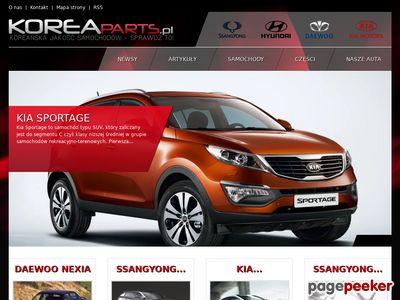 KoreaParts.pl – tylko z Korei
