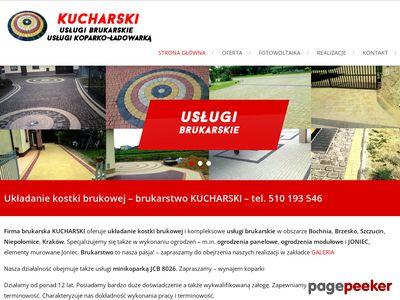 Kucharski - brukarstwo - usługi brukarskie