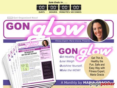 Glow Weight Loss Program By Get Organized Now! 1