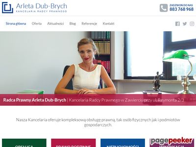 Kancelaria Radcy Prawnego Arleta Dub-Brych