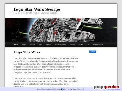 Lego Star Wars Sverige - http://legostarwars.n.nu