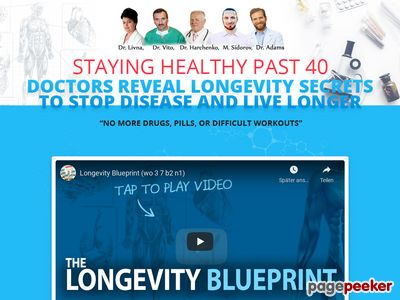 longevity blueprint - The Longevity Breakthrough Your Physician Received't Inform You About