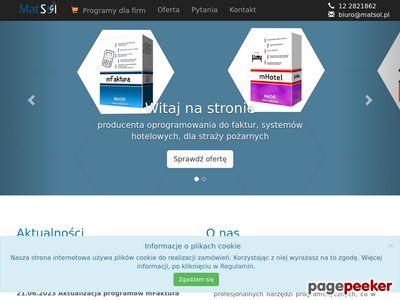 MatSol - Profesionalne usługi informatyczne
