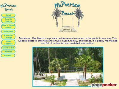 mcphersonbeach.com