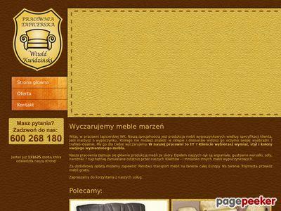 Meble Skórzane - Witold Kwidziński
