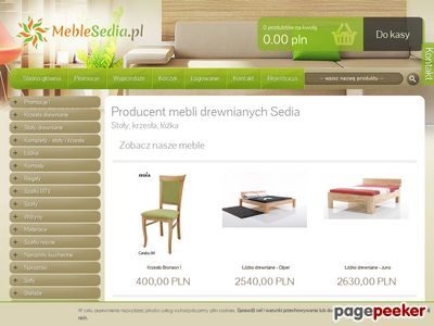 Sklep meblowy MebleSedia.pl
