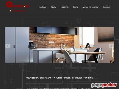 Nowoczesne meble kuchenne w Warszawie