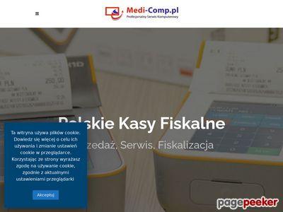 Kasy fiskalne Andrychów | medi-comp.pl