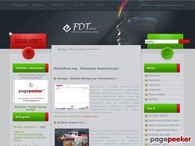 MediaTRON.org - spis stron