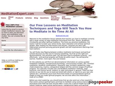 Meditation techniques and guided lessons that teach you how to meditate meditationexpert