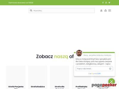 Medycynacbd.pl | Lek z konopi
