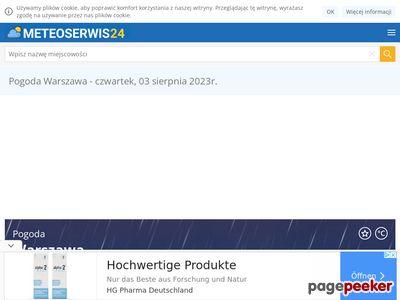 Meteoserwis24.pl - Twoja informacja o pogodzie