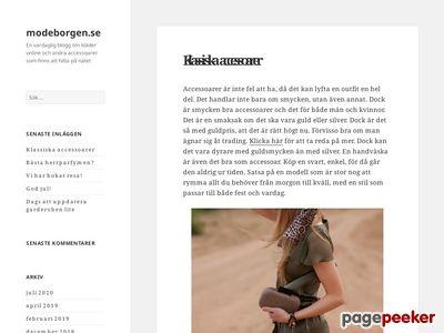 Kl�der online - http://modeborgen.se