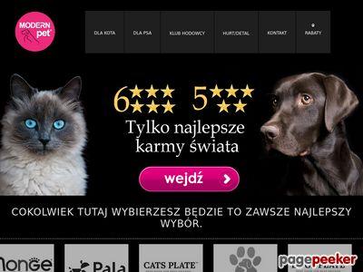 Karma ZiwiPeak dla psa i kota zawsze w Modern Pet