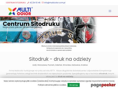 Sitodruk Łódź | Multicolor