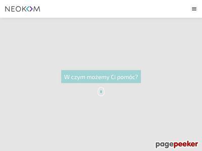 Strony internetowe, pozycjonowanie i wizerunek - Neokom Toruń