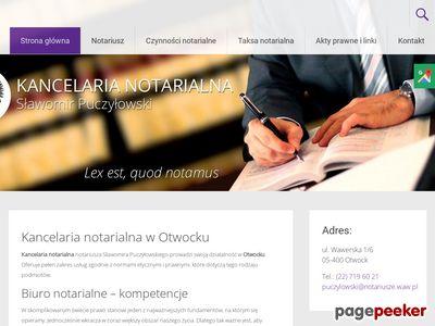 Puczyłowski Sławomir notariusze otwock