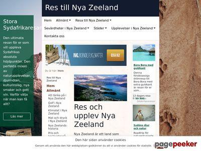 Nya Zeeland Resor - http://nyazeelandresor.nu