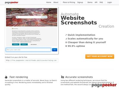 Hotel Internet Marketing Screenshot