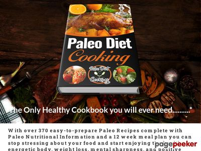 Paleo Diet Cooking with over 370 Amazing Paleo Recipes – Paleo Diet Cookin...