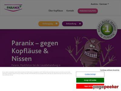 Paranix.eu - wszy objawy