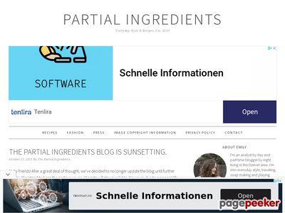 partial-ingredients.com