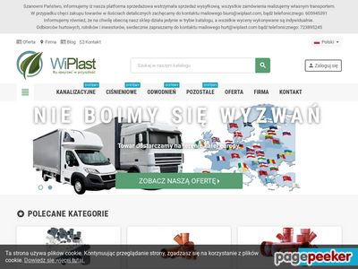 Producent rur kanalizacyjnych oraz kształtek PVC, PP - WiPlast