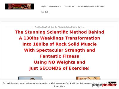 7 Seconds to A Perfect Body - The ULTIMATE Isometric Training Program 1