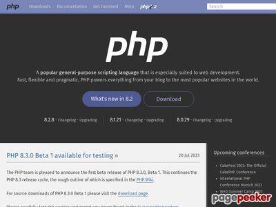 php.net thumbnail
