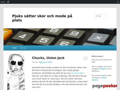 Pjuks modeblogg - http://pjuks.edublogs.org