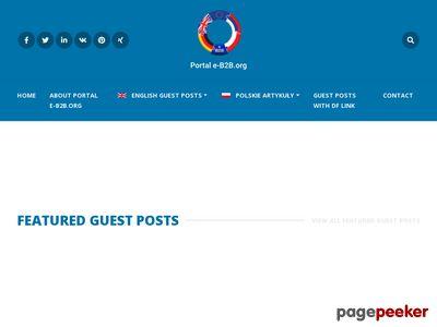 Portal biznesowy e-B2B.org