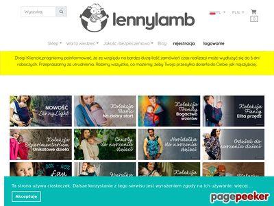 LennyLamb nosidełko dla dziecka