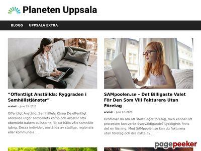Guide till Uppsala. Evenemang,  sev�rdheter,  turism mm - http://planetenuppsala.se