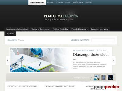 Platforma Zakupów - portal