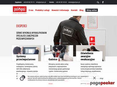Zabezpieczenia przeciwpożarowe POL-POŻ.pl