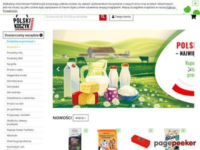 Supermarket online - www.PolskiKoszyk.pl