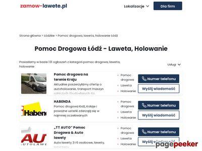 Pomoc Drogowa Łódź - 532 412 412 - laweta, holowanie