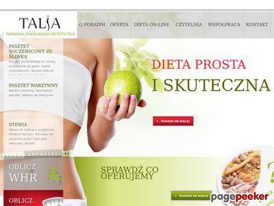 Dieta przez internet