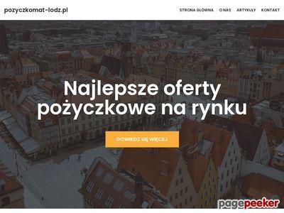 Pożyczki bez BIK Łódź - Pożyczkomat_Łódź