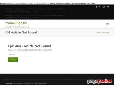 pranavbhasin.com