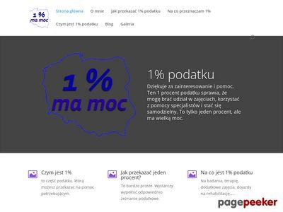 Jeden procent dla Marcinka