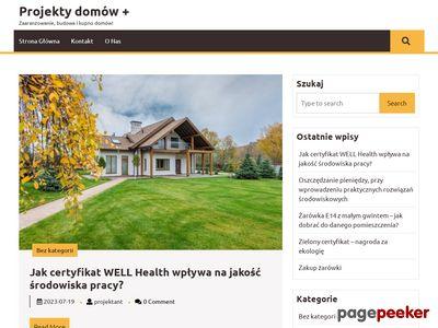 projektydomowplus.pl Projekty domów