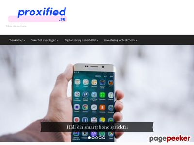 Surfa anonymt genom proxy | Proxified.se - http://proxified.se