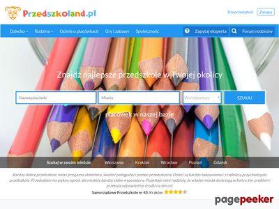 Przedszkoland.pl - ranking przedszkoli