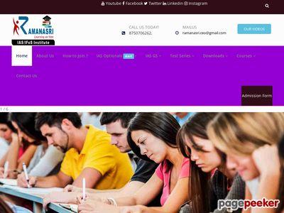 ramanasriias.com