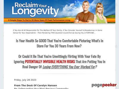 reclaimyourlongevity