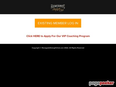 Renegade Strength Club | Muscle Building, Fat Burning Workouts 1