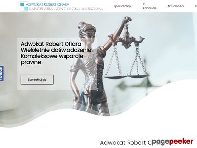 Kancelaria Adwokacka Warszawa | Robert Ofiara