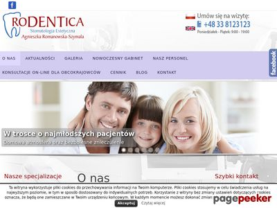 Chirirg dentysta w RODENTICA