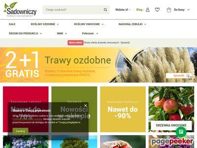 http://Sadowniczy.pl - ogrodniczy sklep internetowy